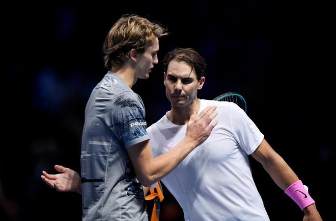Bị chấn thương, Nadal đành thất thủ trước ĐKVĐ ATP Finals - Ảnh 4.