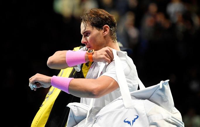 Bị chấn thương, Nadal đành thất thủ trước ĐKVĐ ATP Finals - Ảnh 5.