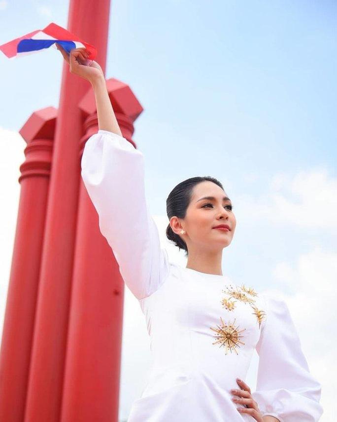 Nhan sắc rạng ngời của tân Hoa hậu Quốc tế - Ảnh 6.