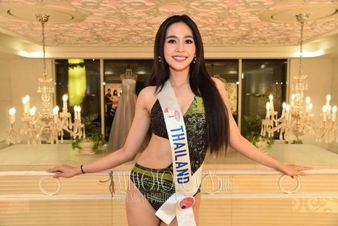 Nhan sắc rạng ngời của tân Hoa hậu Quốc tế - Ảnh 3.
