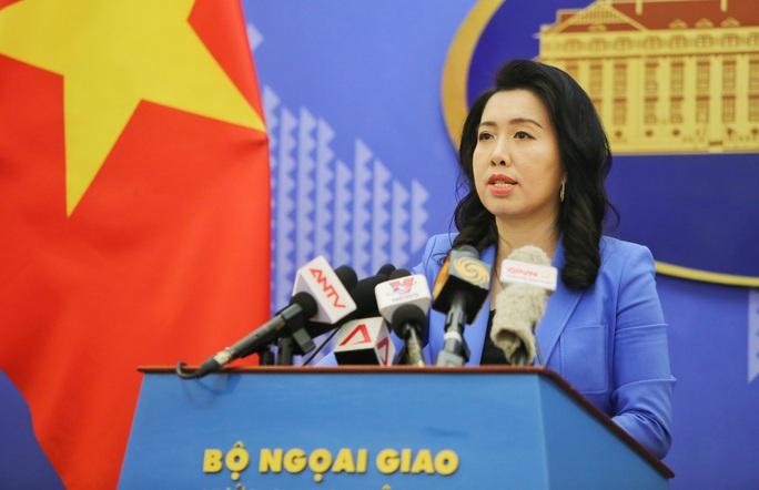 Việt Nam bác bỏ phát biểu của Trung Quốc về vấn đề chủ quyền đối với Trường Sa - Ảnh 1.