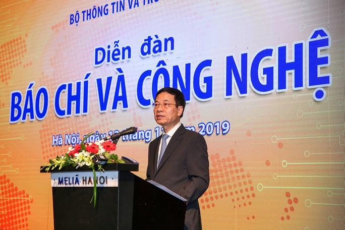 Bộ trưởng Nguyễn Mạnh Hùng: Nhiều cơ quan báo chí đã lỗi hẹn với công nghệ - Ảnh 1.