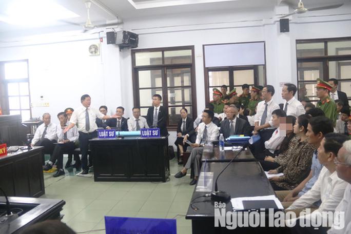 Toàn cảnh phiên tòa xét xử luật sư Trần Vũ Hải - Ảnh 4.