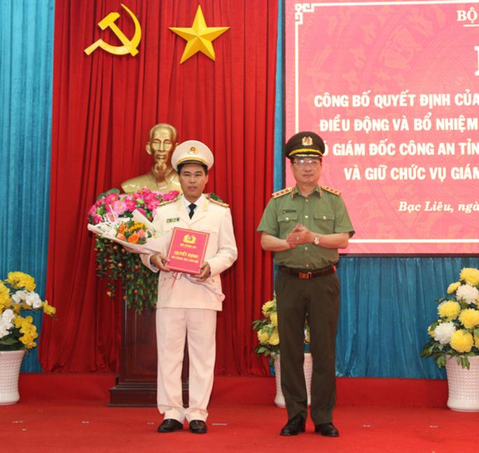 Phó Giám đốc Công an Bình Thuận làm Giám đốc Công an Bạc Liêu - Ảnh 1.