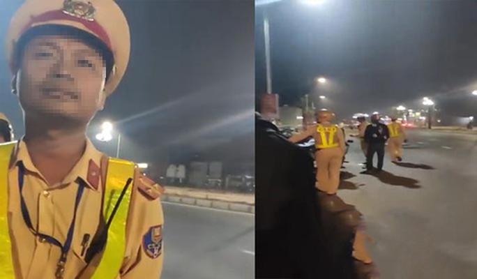 Dân ghi hình CSGT, bị 2 người bán sữa cản trợ, nhờ xoá clip - Ảnh 1.