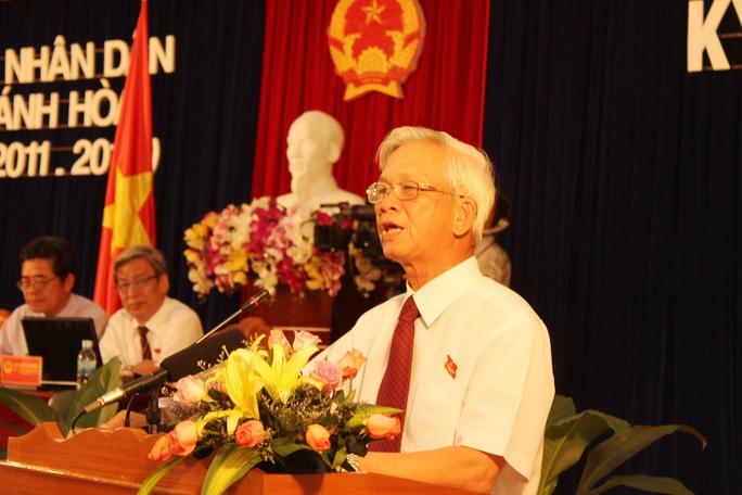 Công bố quyết định kỷ luật của Ban Bí thư đối với lãnh đạo tỉnh Khánh Hòa - Ảnh 2.