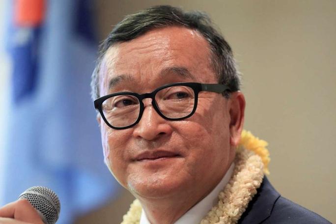 Campuchia: Âm mưu đảo chính của ông Sam Rainsy thất bại hoàn toàn - Ảnh 1.
