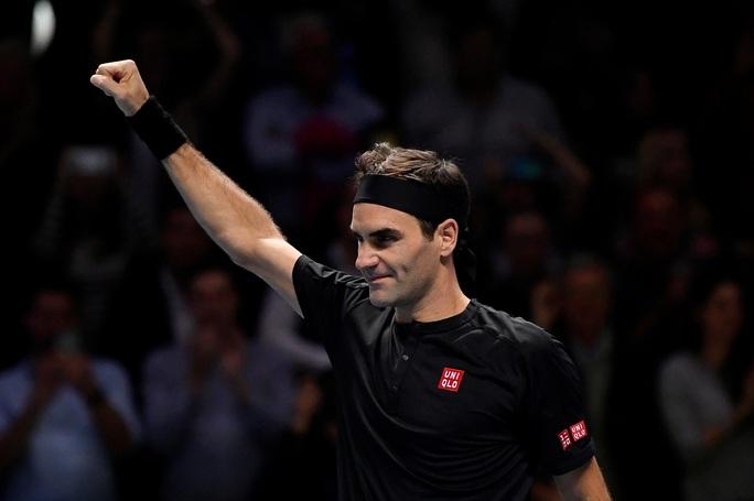 Federer hạ gục Djokovic, vào bán kết ATP Finals 2019 ở tuổi 38 - Ảnh 5.