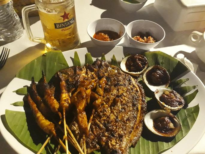 Chiều chuộng mọi giác quan trong bữa tối Bali - Ảnh 4.