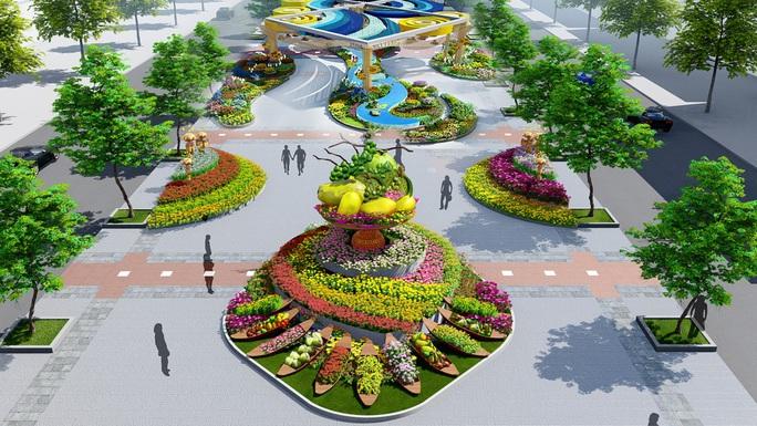 Nhiều tạo hình độc đáo ở đường hoa Nguyễn Huệ Tết Canh Tý 2020 - Ảnh 3.