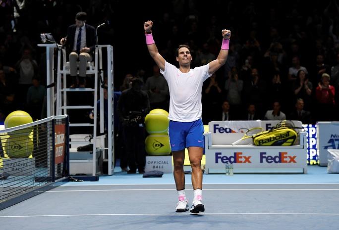 Nadal nối bước Djokovic, bị loại sớm khỏi ATP Finals 2019 - Ảnh 2.