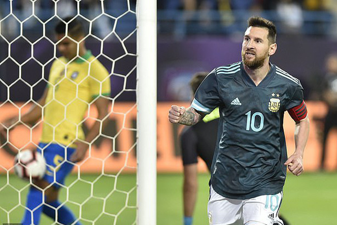 Messi tái xuất, Argentina hạ Brazil, đoạt cúp siêu kinh điển Nam Mỹ - Ảnh 8.