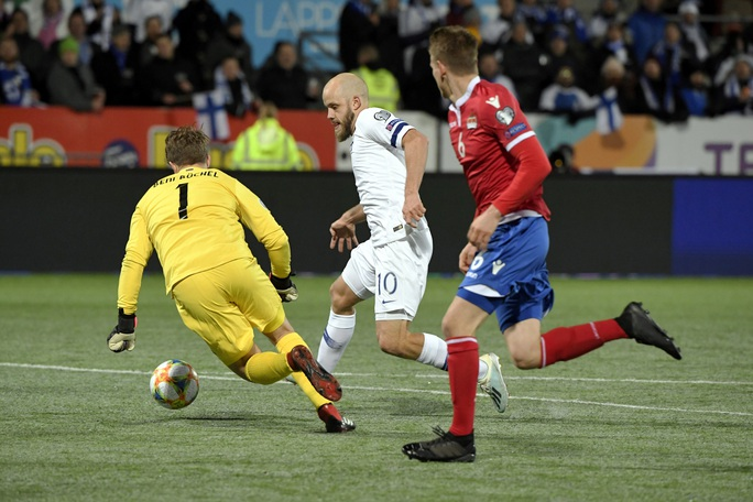 Tây Ban Nha dội mưa bàn thắng, Phần Lan lần đầu dự VCK Euro - Ảnh 6.