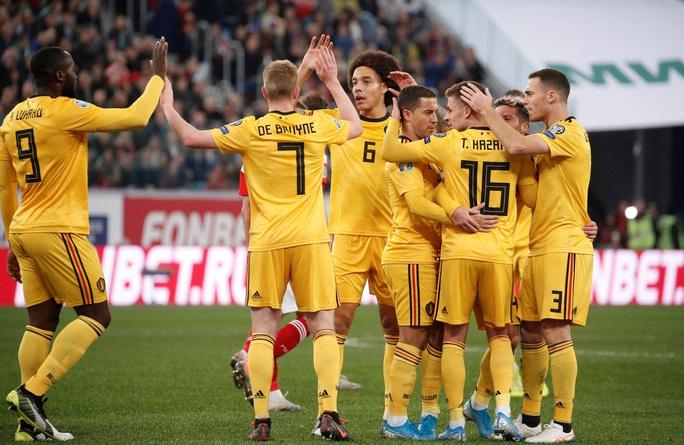 Anh em Hazard lập đại công, Bỉ lập kỷ lục đại thắng vòng loại Euro - Ảnh 7.