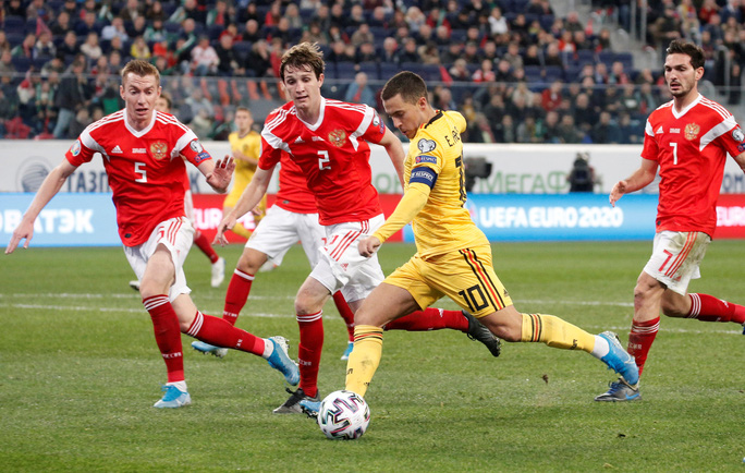 Anh em Hazard lập đại công, Bỉ lập kỷ lục đại thắng vòng loại Euro - Ảnh 4.