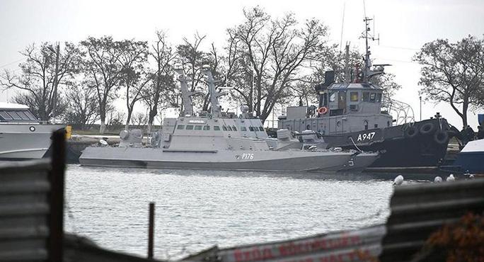 Nga trả 3 tàu hải quân bị bắt cho Ukraine - Ảnh 1.