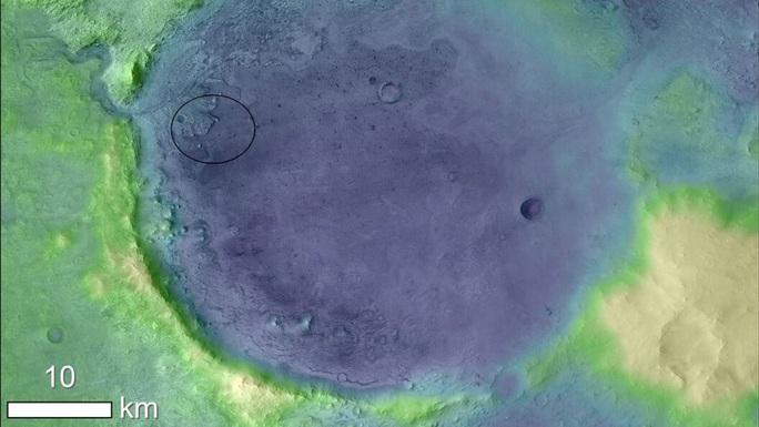 Phát hiện ốc đảo nghi có hóa thạch sinh vật ngoài hành tinh - Ảnh 1.