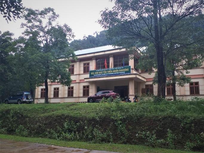 Lãnh đạo Hạt Kiểm lâm Khu bảo tồn thiên nhiên Đakrông bị kỷ luật - Ảnh 1.