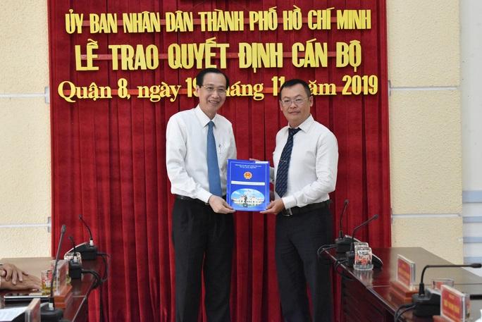 Ông Phạm Quang Tú làm Phó Chủ tịch UBND quận 8, TP HCM - Ảnh 1.