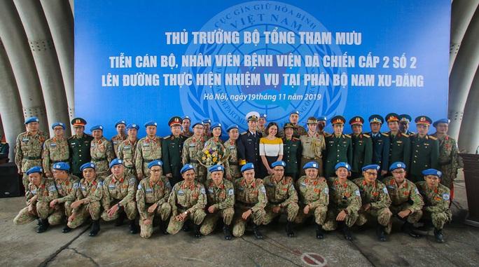 Cận cảnh ngựa thồ C-17 đưa Bệnh viện dã chiến lên đường gìn giữ hòa bình Liên Hiệp Quốc - Ảnh 8.