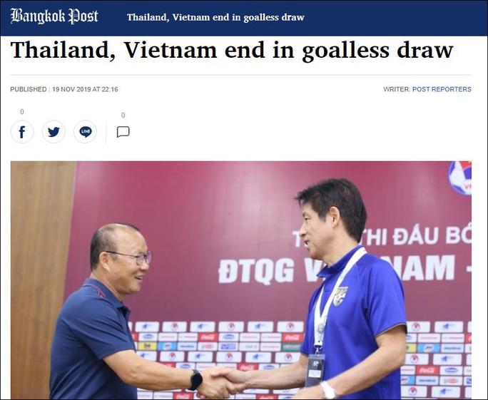 Báo chí Thái Lan tiếc nuối với trận hoà của đội tuyển trước Việt Nam - Ảnh 3.