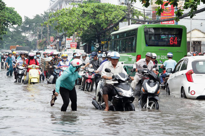 Bộ TN-MT phản ứng trước thông tin TP HCM và Đồng bằng sông Cửu Long bị xóa sổ vào năm 2050 - Ảnh 1.