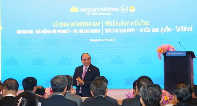 Thủ tướng dự khai trương các đường bay mới tới Thái Lan - Ảnh 1.