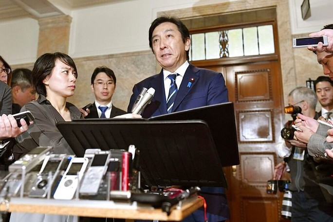 """Bộ trưởng Nhật Bản từ chức chỉ vì chuyện """"dưa cà mắm muối""""  - Ảnh 1."""