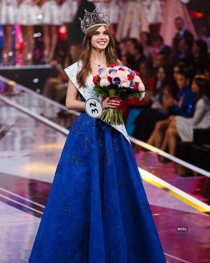 Hoa hậu Nga bỏ thi Hoa hậu Hoàn vũ Thế giới 2019 - Ảnh 2.