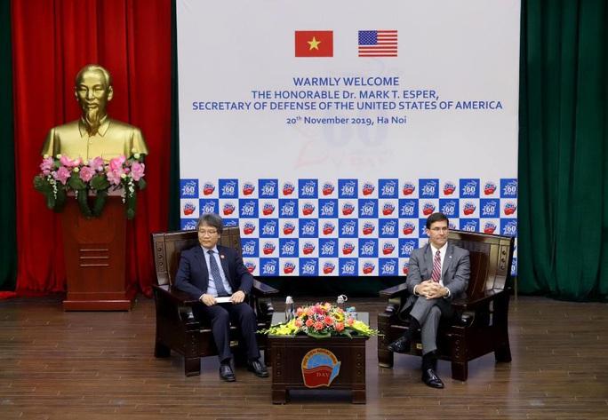 Bộ trưởng Quốc phòng Mỹ Mark Esper dẫn chuyện Hai Bà Trưng để nói về quan hệ với Việt Nam - Ảnh 4.