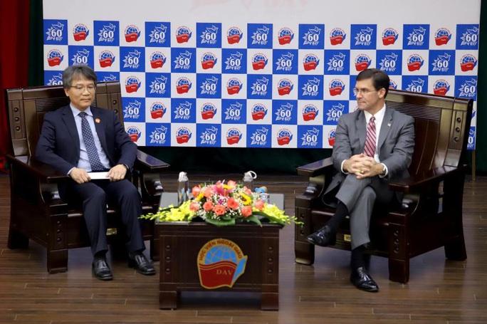 Bộ trưởng Quốc phòng Mỹ Mark Esper dẫn chuyện Hai Bà Trưng để nói về quan hệ với Việt Nam - Ảnh 1.