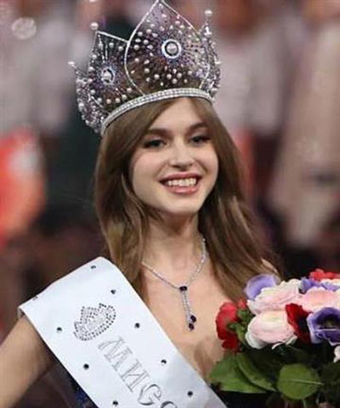 Hoa hậu Nga bỏ thi Hoa hậu Hoàn vũ Thế giới 2019 - Ảnh 1.