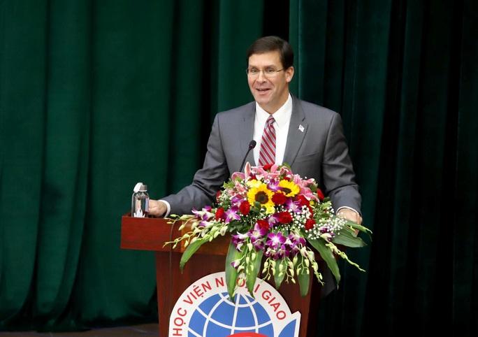 Bộ trưởng Quốc phòng Mỹ Mark Esper dẫn chuyện Hai Bà Trưng để nói về quan hệ với Việt Nam - Ảnh 7.