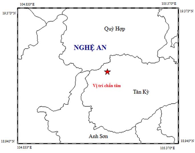 Động đất 4,2 độ, nhiều địa phương ở Nghệ An bị rung lắc, người dân chạy khỏi nhà - Ảnh 1.