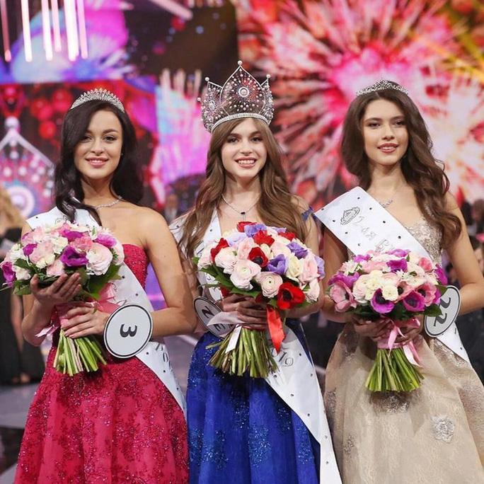 Hoa hậu Nga bỏ thi Hoa hậu Hoàn vũ Thế giới 2019 - Ảnh 3.