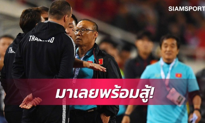 Sợ phạt vì khiêu khích HLV Park Hang-seo, trợ lý HLV Thái Lan xin lỗi chung chung - Ảnh 1.