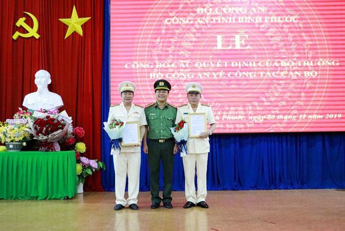 Phó Hiệu trưởng trường Trung cấp cảnh sát làm PGĐ Công an Bình Phước - Ảnh 1.