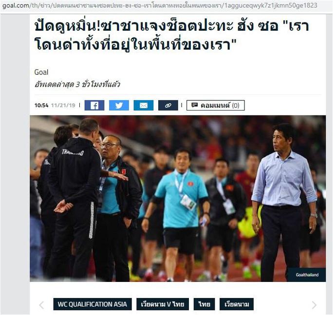 Sợ phạt vì khiêu khích HLV Park Hang-seo, trợ lý HLV Thái Lan xin lỗi chung chung - Ảnh 3.