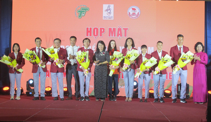 Họp mặt đoàn Thể thao Việt Nam phía Nam tham dự SEA Games 30 - Ảnh 8.