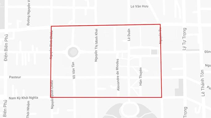 TP HCM cấm nhiều tuyến đường ở trung tâm vào sáng 23 và 24-11 - Ảnh 1.