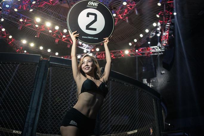 Bỏng mắt trước 7 Ring Girl nóng bỏng sẽ xuất hiện tại trận đấu của Duy Nhất - Ảnh 1.