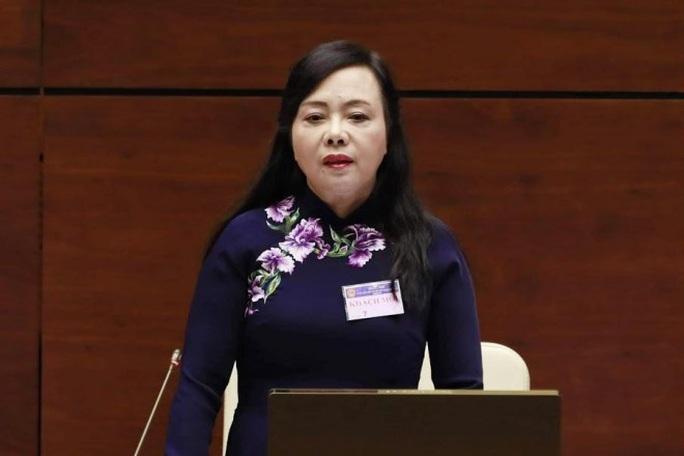 Hôm nay 22-11, Quốc hội miễn nhiệm Bộ trưởng Y tế Nguyễn Thị Kim Tiến - Ảnh 2.