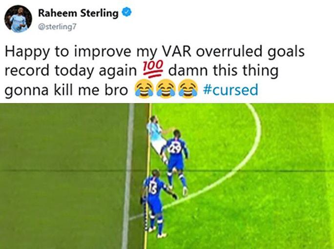 Man City hạ đẹp Chelsea, Sterling lập kỷ lục bị VAR hành - Ảnh 5.