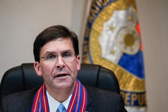 Bộ trưởng Hải quân Mỹ bị sa thải - Ảnh 2.