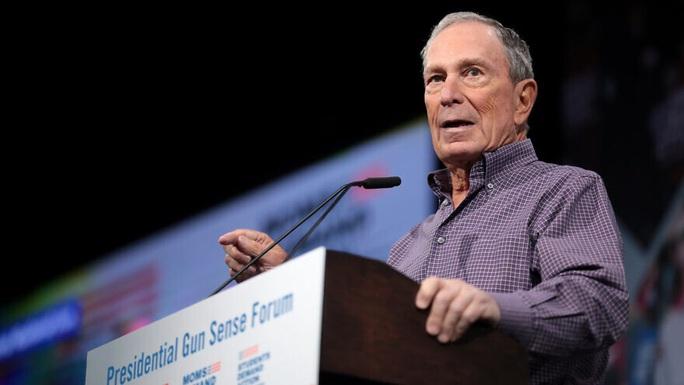 Tỉ phú Bloomberg quyết ngăn ông Donald Trump tái đắc cử - Ảnh 1.