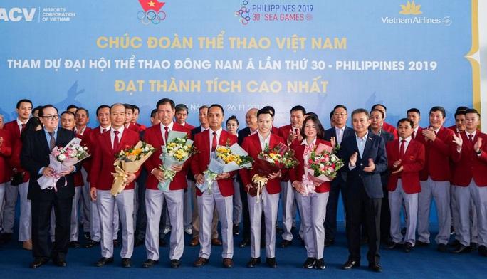 Nhiều chuyến bay thẳng đặc biệt đến Philippines đưa VĐV dự SEA Games 30 - Ảnh 1.