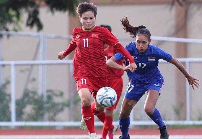 Tuyển bóng đá nữ Việt Nam - Thái Lan: 1-1: Bài học đắt giá về không chiến - Ảnh 1.
