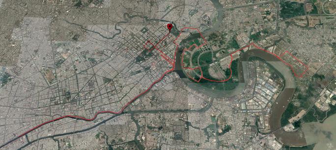 Cấm xe nhiều tuyến đường khu trung tâm TP HCM - Ảnh 2.