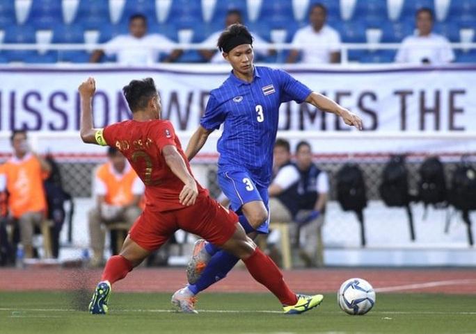 Đương kim vô địch Thái Lan gục ngã, sân cỏ SEA Games rúng động - Ảnh 1.