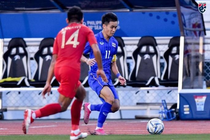 Đương kim vô địch Thái Lan gục ngã, sân cỏ SEA Games rúng động - Ảnh 5.